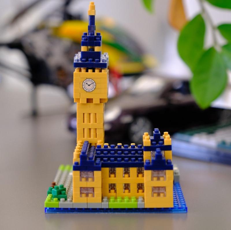Eine Burg aus Lego
